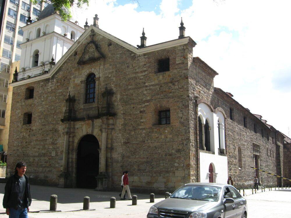 la iglesia de San Agustín, colombia