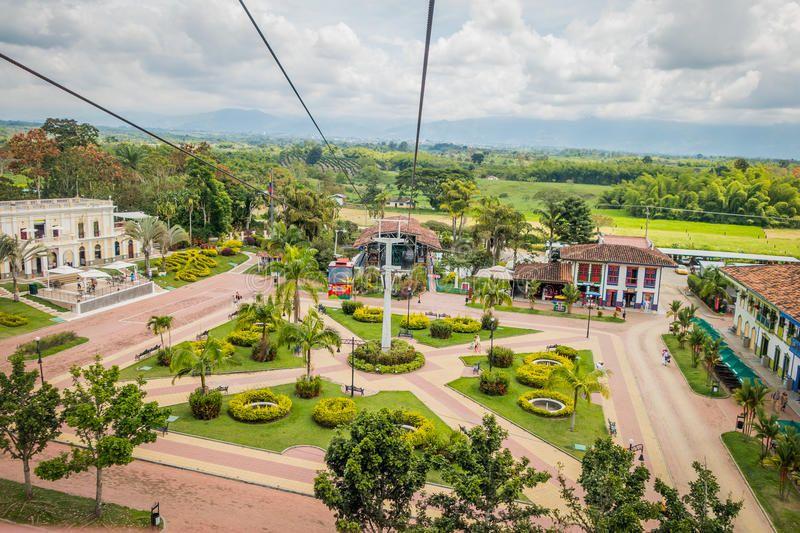 ¿Dónde está el Parque Nacional del Café, Colombia?