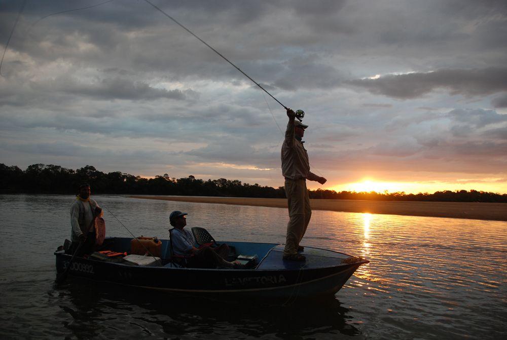 Mejores lugares donde pescar en Colombia