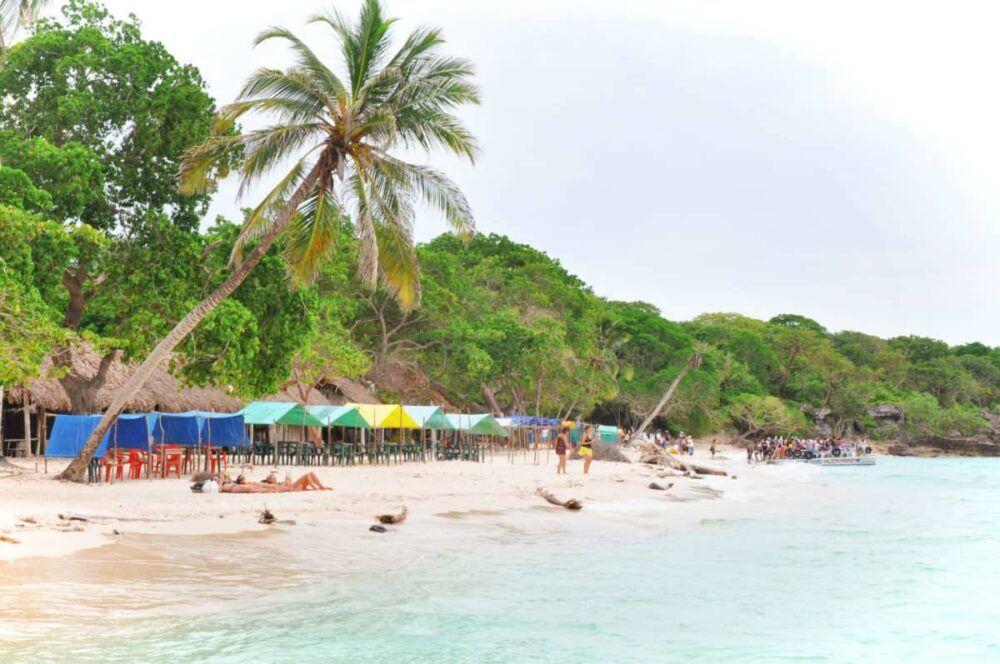 ¿Cómo llegar a Playa Blanca, Colombia?