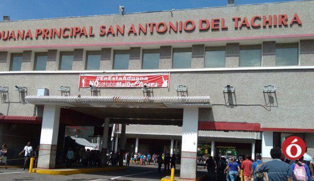 Productos permitidos a la entrada por la aduana en Colombia