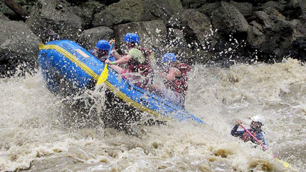 Colombia Rafting adventure