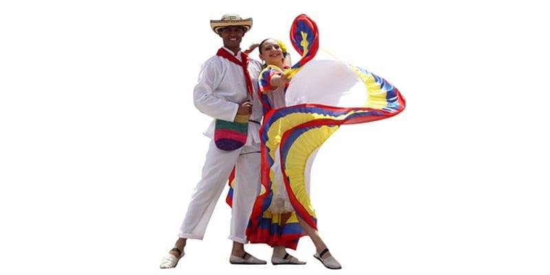 Traje típico colombiano