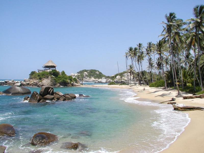 Localización de las mejores playas de Colombia