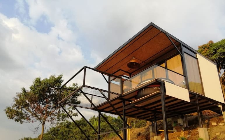 Bungalow airbnb Colombia