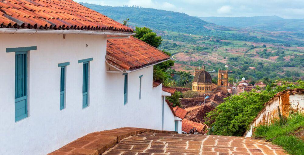 Dónde está Barichara, Colombia