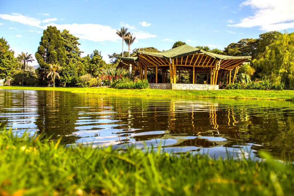 El Jardín Botánico José celestino Muti