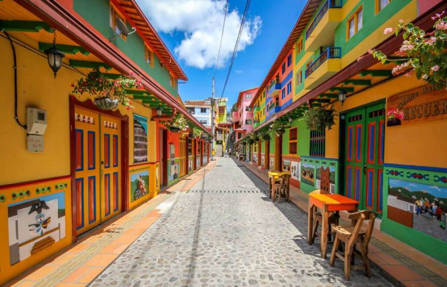 Actividades en Colombia