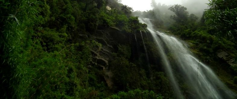 Colombia waterfall
