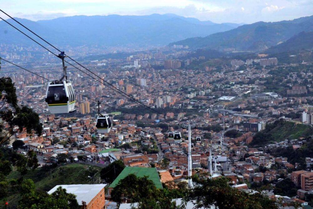Medellín Metrocable Colombia