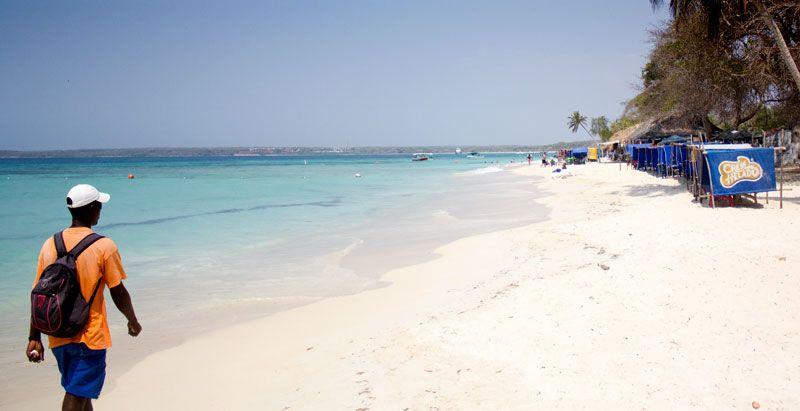 ¿Dónde está Playa Blanca, Colombia?