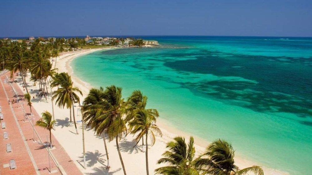 Playa Spratt Bight, Colombia