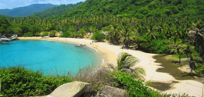 El mar caribe en Colombia